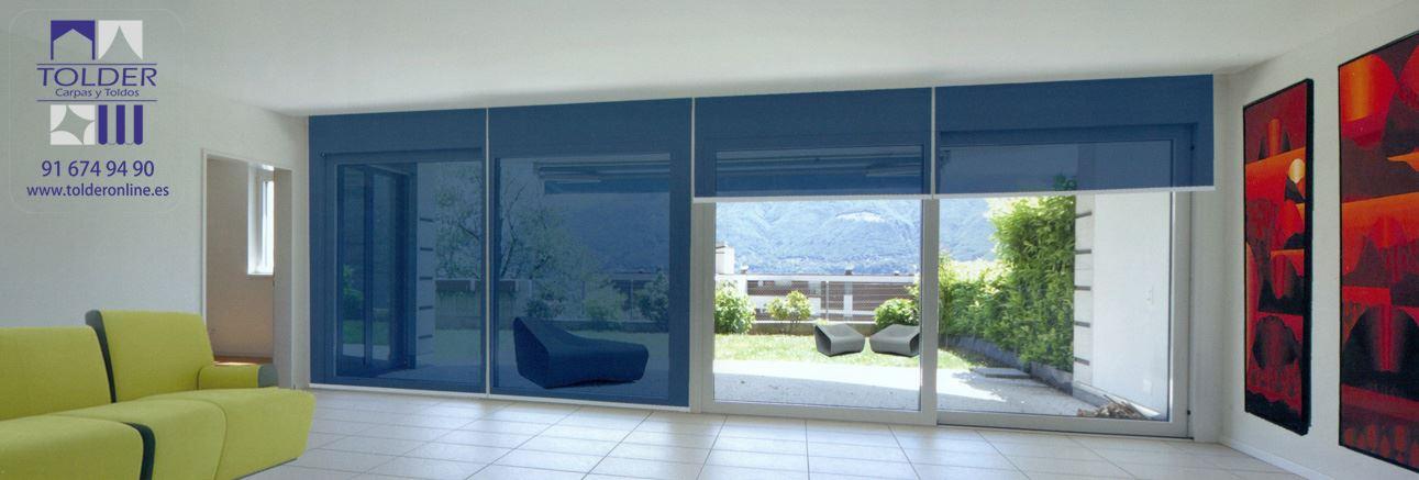 Confort visual y térmico con el consiguiente ahorro energétco