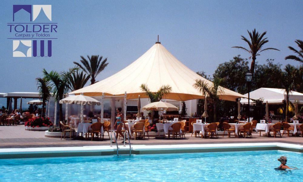 Cono del Hotel Riu Palace Maspalomas (Canarias), fabricado e instalado por Tolder.