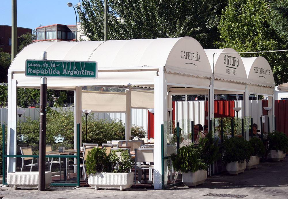 Terraza hostelería por Tolder