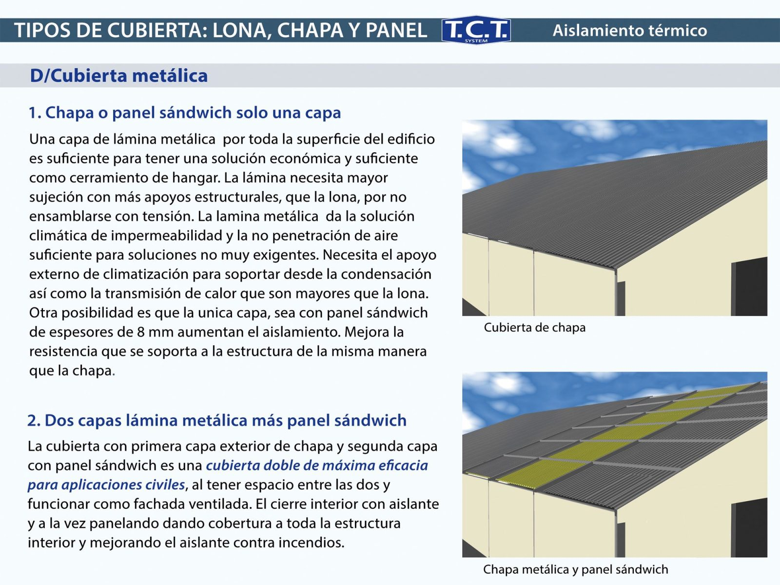Hangares desmontables transportables modulables y - Lamina aislante termico ...