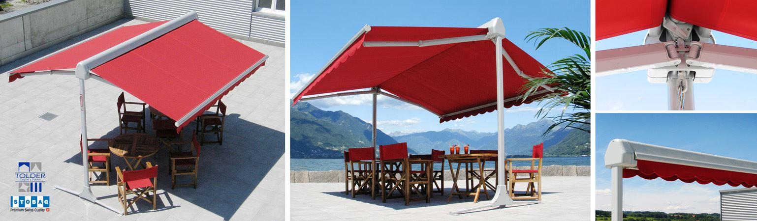 Toldos stobag para balcones y terrazas tolder - Tipos de toldos para terrazas ...