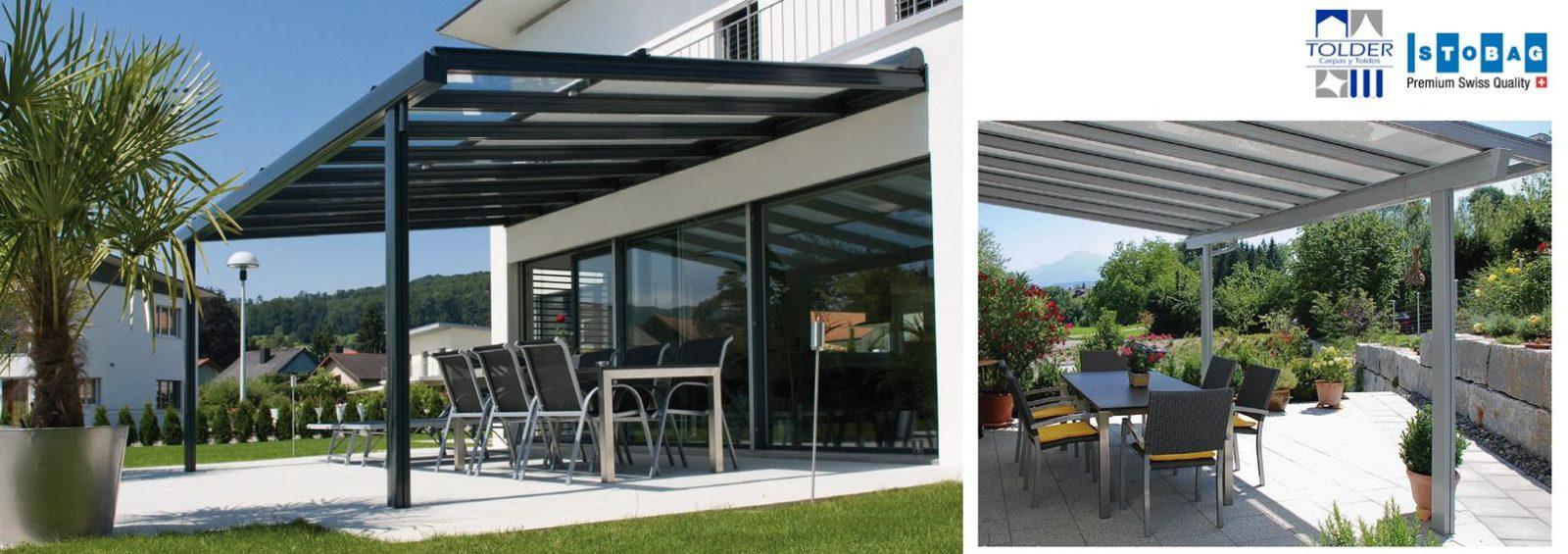Toldos stobag para balcones y terrazas tolder for Toldos corredizos para terrazas