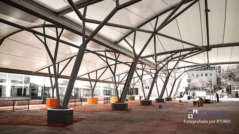 Estructura metalica cubierta latest cubiertas en estructura metalica with estructura metalica - Estructura metalica cubierta ...